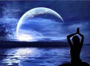 Full lunar eclipse yoga event